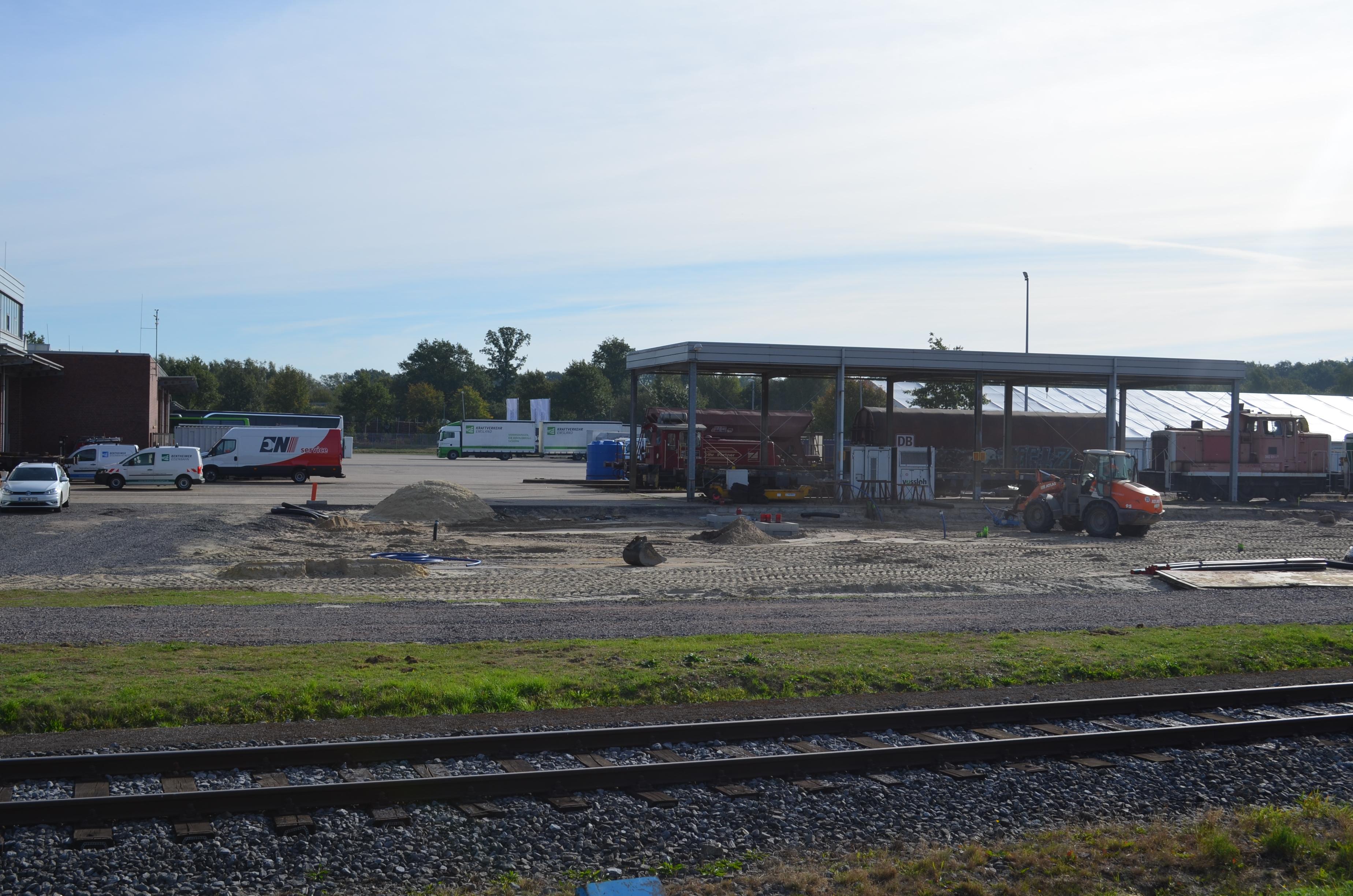 Werkstattvergrößerung Bentheimer Eisenbahn