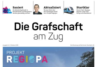 Infozeitung Bentheimer Eisenbahn AG