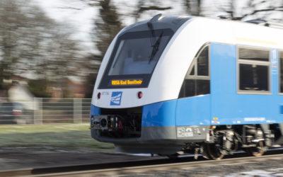 Regiopa Express während der Fahrt