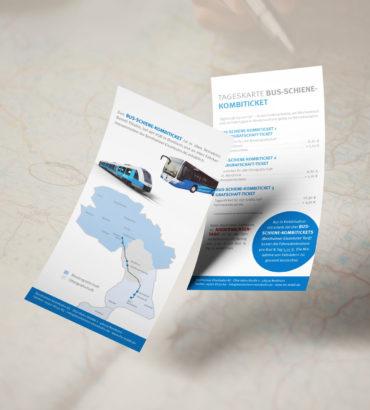 Tageskarte Bus-Schiene-Kombiticket – Einfach mobil in der Grafschaft